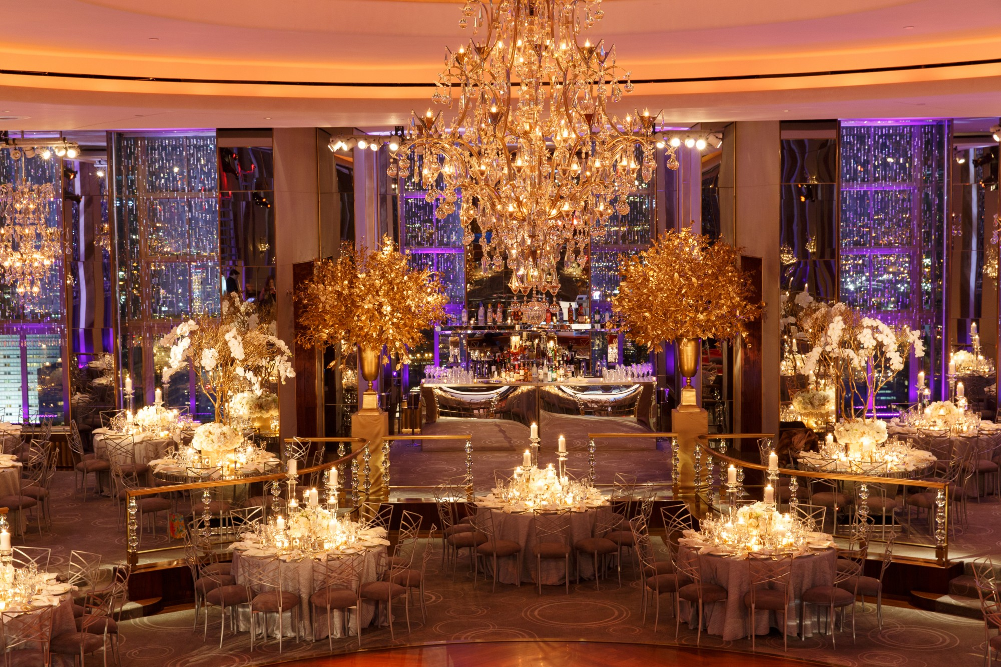 Classic New York City Wedding At The Rainbow Room In Any
