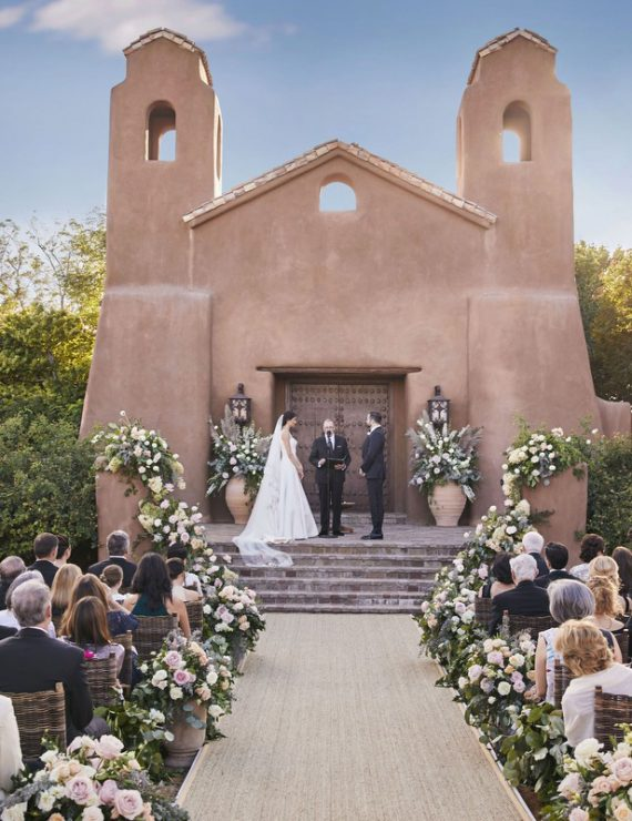 Santa Fe Ranch Wedding planned by Leslie Price of In Any Event NY and photographed by Christian Oth