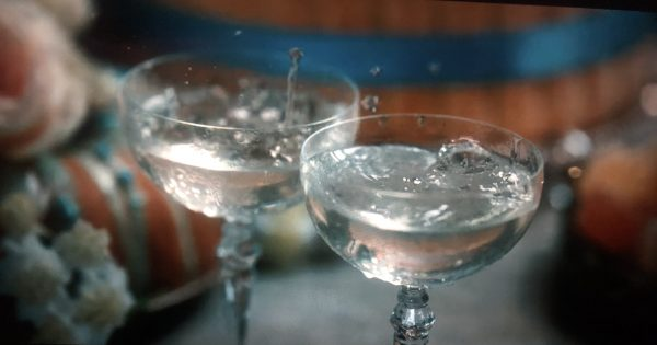 champagne coupe from Bridgerton